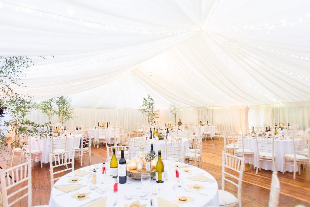 Photo of a Marquee Wedding Venues In the South Of England