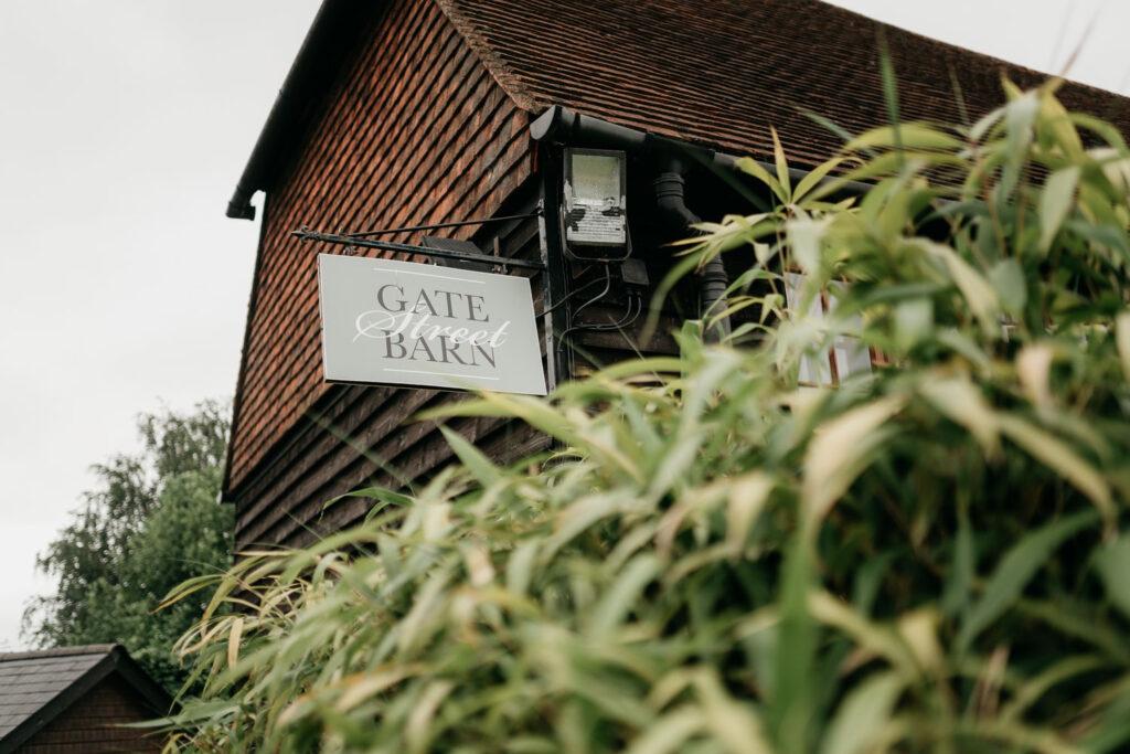 Photo of Gate Street Barn Wedding Venue Surrey