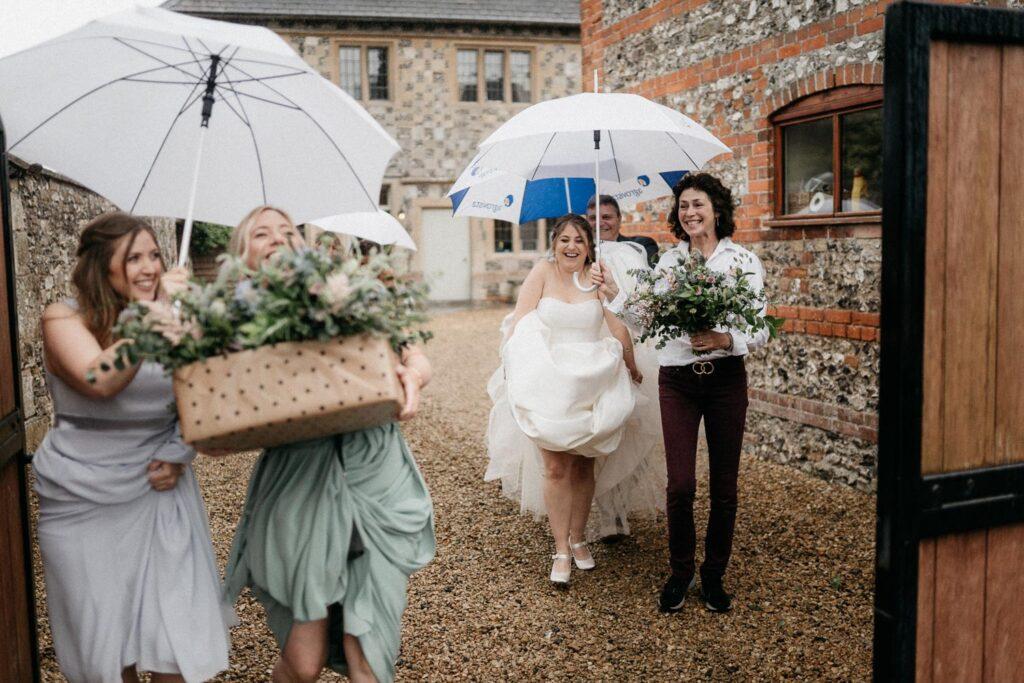 Wedding Day Rain